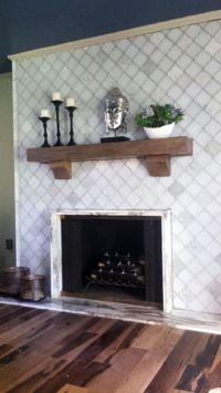 25+ best ideas about Glass Tile Fireplace on Pinterest ...