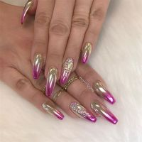 Best 25+ Chrome Nail Powder ideas on Pinterest
