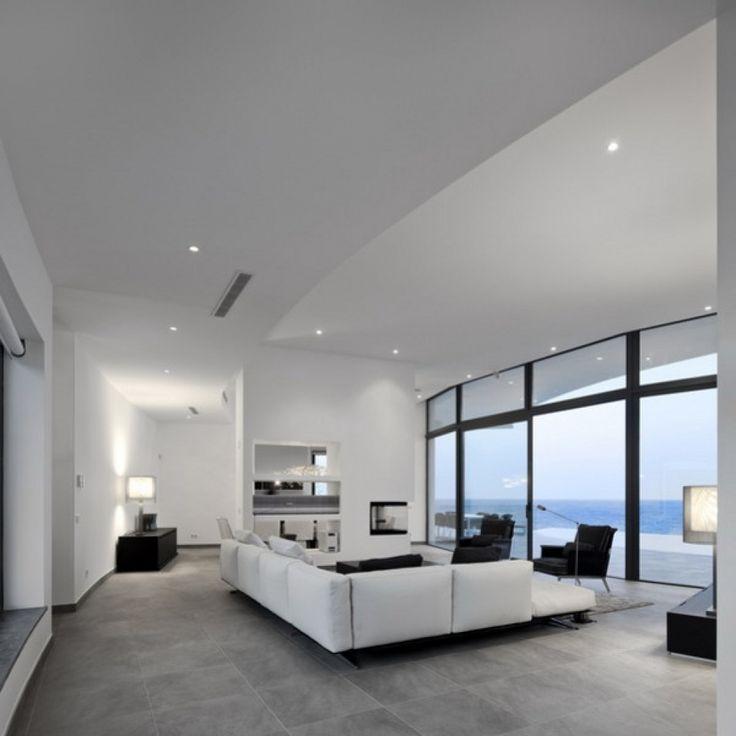 ... Moderne Architektur Wohnzimmer Curved Wall Architecture Framing   Kche  Luxus Modern ...
