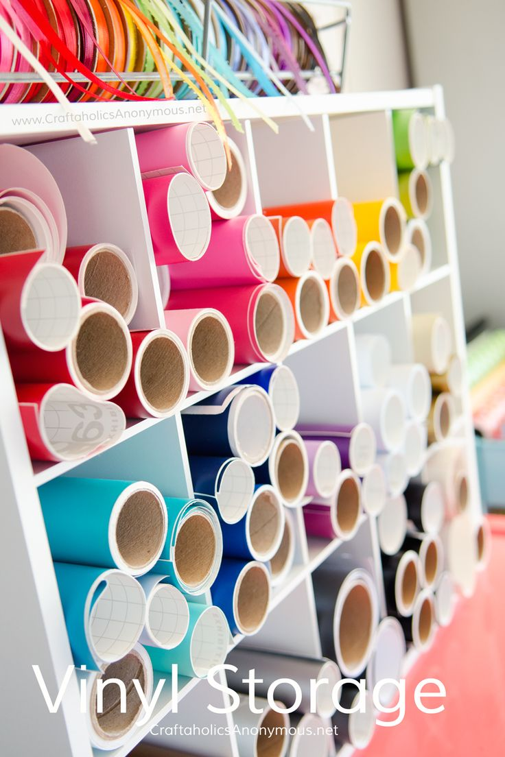 Craft vinyl storage idea use a cheap shoe rack brilliant there are