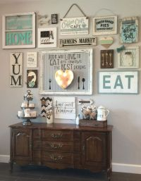 25+ best ideas about Rustic gallery wall on Pinterest ...