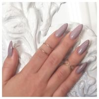Lilac/ light purple almond acrylic nails | Nails In The ...