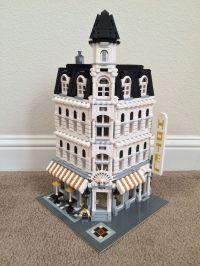 My first custom build. Lego modified Cafe Corner.   Lego ...