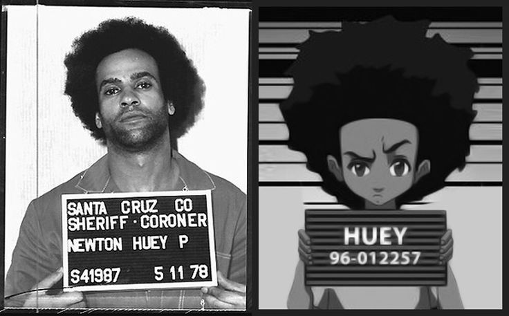 Boondock Girl Wallpaper Huey Freeman Is Based On The Founder Of The Black Panther