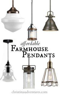 17 Best ideas about Farmhouse Pendant Lighting on ...