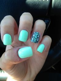 "Another pinner: ""Got me nails diddd"" I love the solid ..."