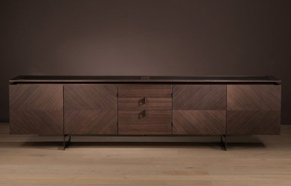 Buffet Or Sideboard Difference Alternate Door Design Using Veneer And Mdf. Modern