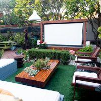 25+ best ideas about Backyard movie screen on Pinterest ...