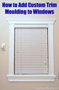 25+ best ideas about Window Molding Trim on Pinterest ...