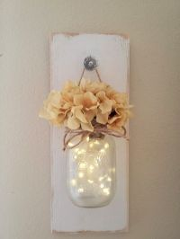 Best 10+ Mason jar sconce ideas on Pinterest | Mason jar ...