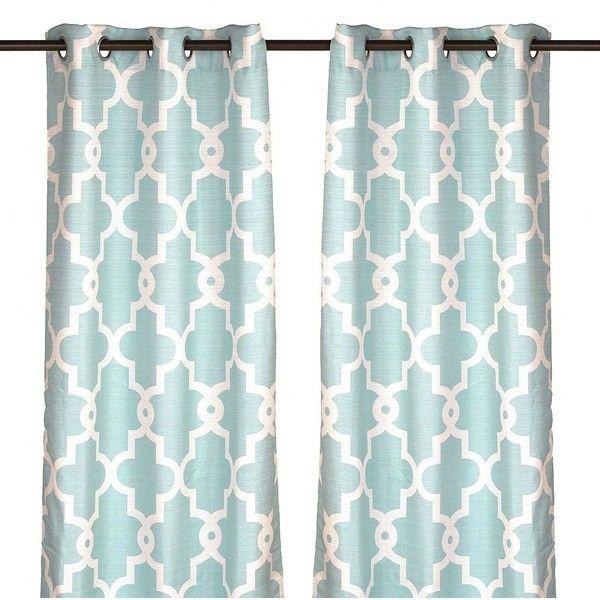 25+ best ideas about Aqua Curtains on Pinterest