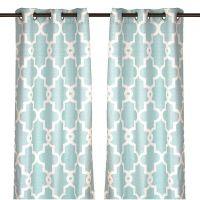 25+ best ideas about Aqua Curtains on Pinterest | Teal ...