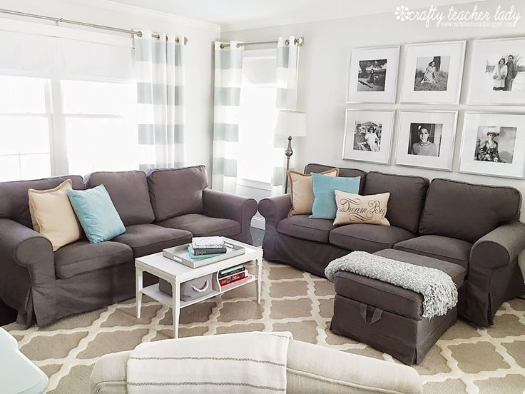 Grey Sofa Teal Walls Crafty Teacher Lady: Review Of The Ikea Ektorp Sofa Series