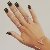 25+ best ideas about Gold acrylic nails on Pinterest ...