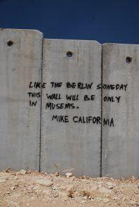 palestinian grafitti | Palestinian Graffiti on the ...