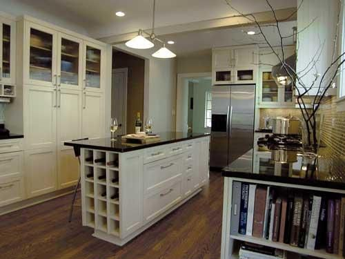 Super Narrow Kitchen Cabinet My Favorite Part: The Built-in Wine Cubby In The Kitchen