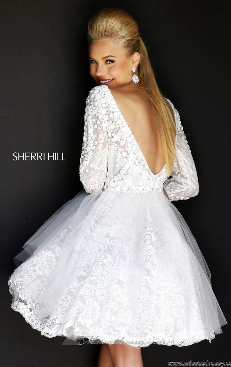 sherri hill vegas wedding dresses Sherri Hill Las Vegas Wedding Dress perfect for my vegas wedding plans plus the long sleeves I want