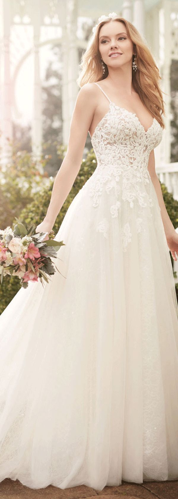 hawaiian wedding dresses hawaiian wedding dress Wonderful Tulle Spaghetti Straps Neckline A line Wedding Dresses With Lace Appliques