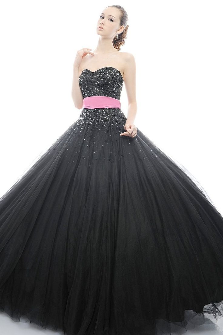 hot pink black and white wedding black wedding gown pink and black wedding dresses