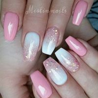25+ best ideas about Pink ombre nails on Pinterest ...