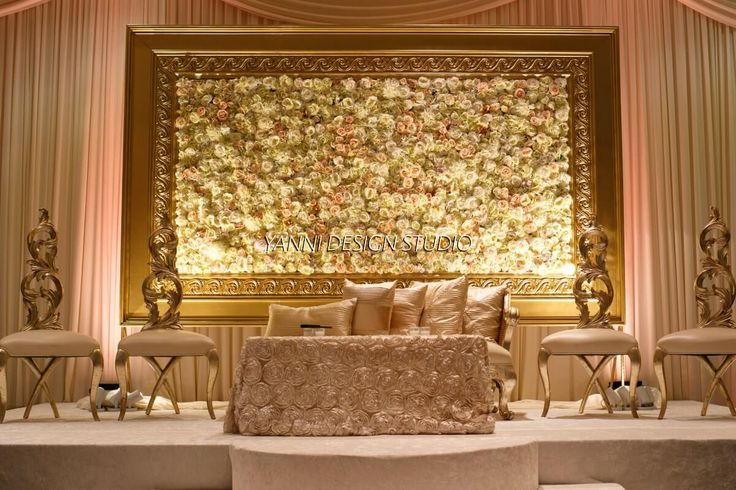 3d Wallpaper For Walls In Karachi Muslim And Pakistani Wedding Stage Decoration Valimah