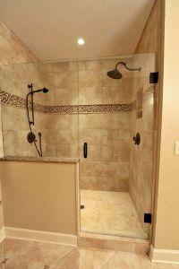 Best 25+ Half wall shower ideas on Pinterest | Bathroom ...
