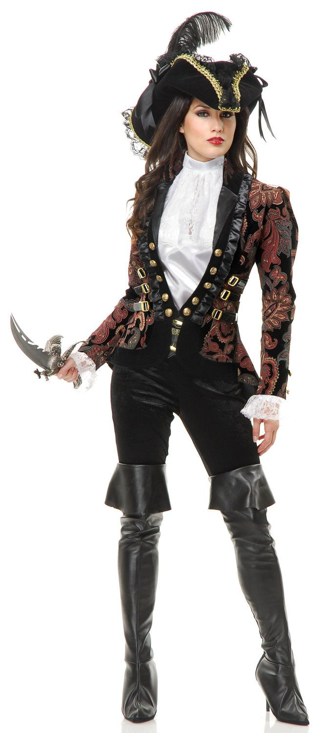 17 Best Ideas About Women39s Pirate Costumes On Pinterest