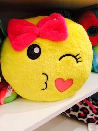 Cute emoji pillow   Justice   Pinterest   So cute, I love ...