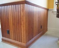 wood stain vs. painted | Wainscoting / Walls | Pinterest ...