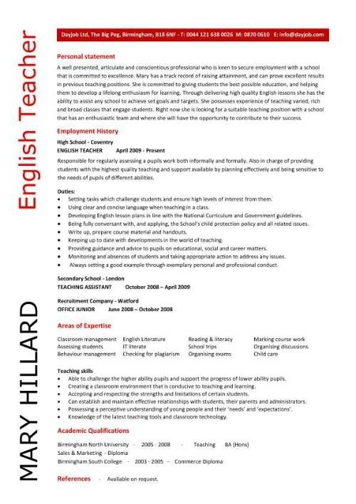 how to evaluate your english skills cv