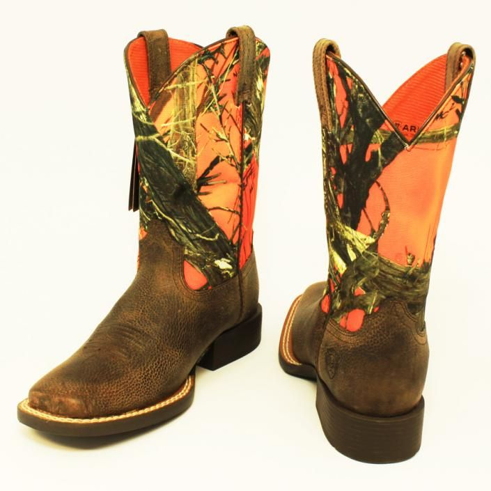Orange Camo Boots Harry39s Est 1939 San Saba Tx