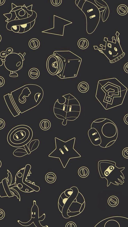 Pacman Wallpaper Iphone X Mario Bros Mobs Wallpapers Pinterest Mario Y Mario Bros