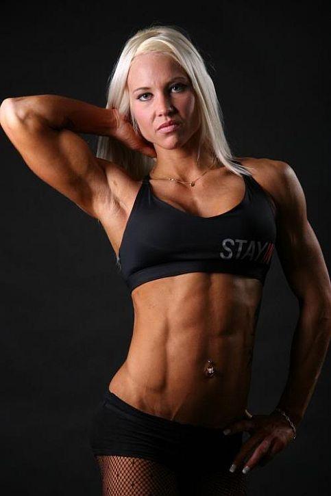 Screen Washer Girl Wallpaper Finnish Female Bodybuilder And Fitness Model Heidi Vuorela