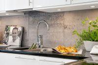 Kitchen Splashback Tiles - Large 600 x 600 Stone Feature ...