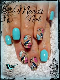 The 25+ best ideas about Bird Nail Art on Pinterest ...