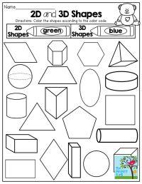 25+ best ideas about 3d Shapes Kindergarten on Pinterest ...