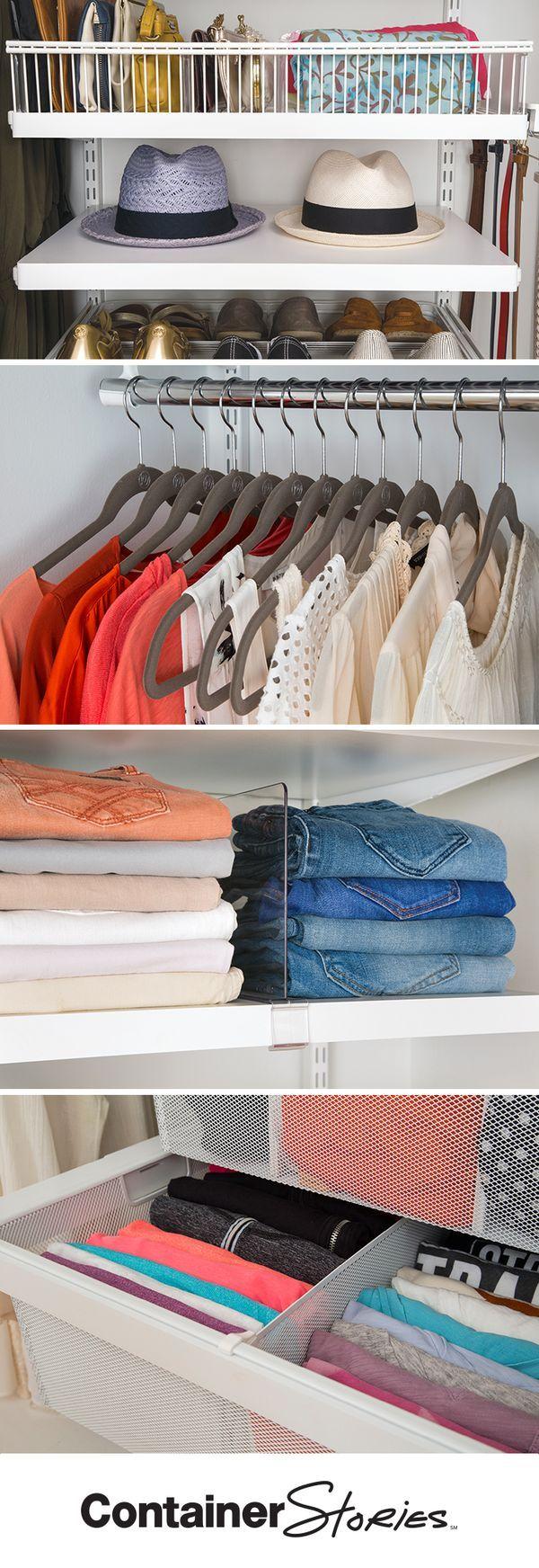 187 Best Images About Elfa Closet On Pinterest Closet