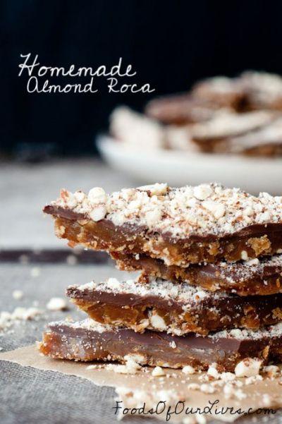 Almond roca, Almonds and Homemade on Pinterest