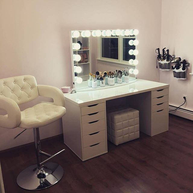 Plastic Drawers Ikea Holy Glam Room! Who Else Wouldn't Mind Having A Glam Sesh