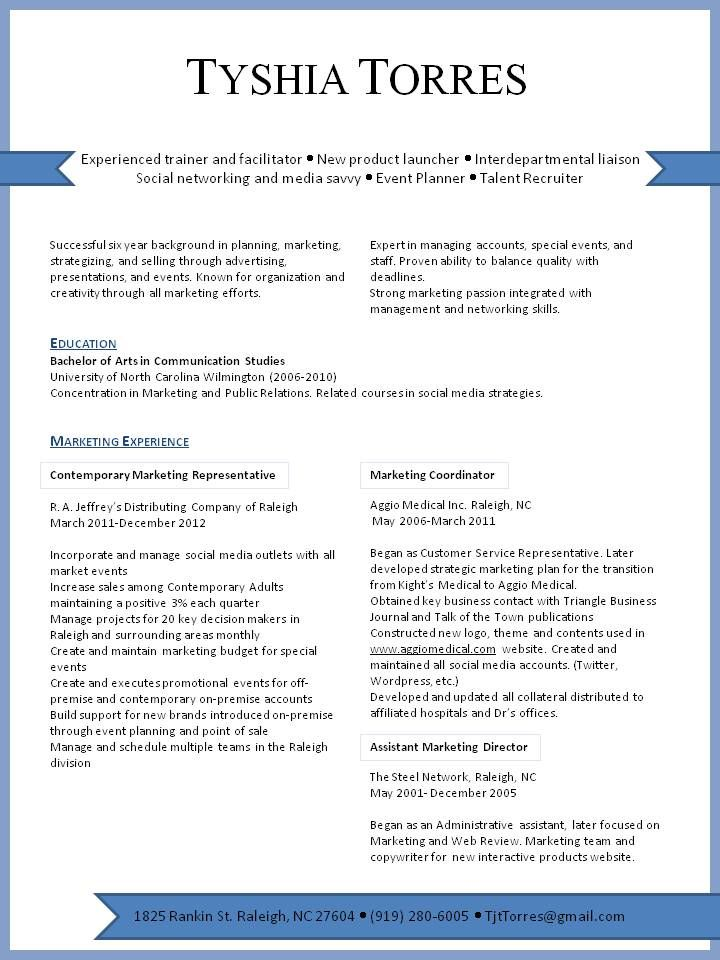sample resumes for management