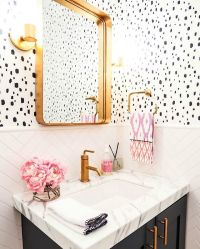 25+ best ideas about Bathroom Wallpaper on Pinterest ...