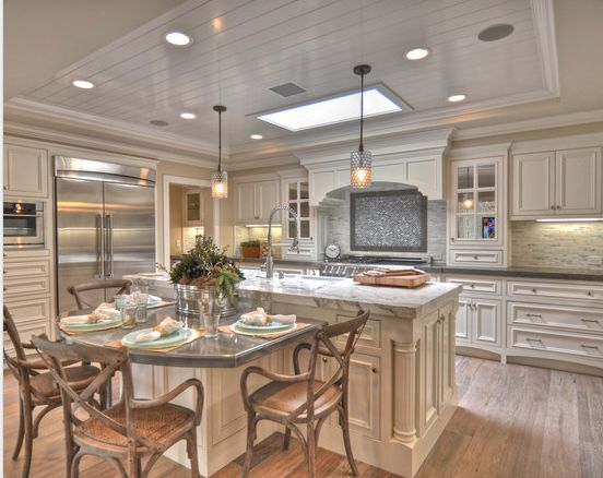 Kitchen Table Islands Cabinets Kitchen Table Island Combo | Kitchen | Pinterest