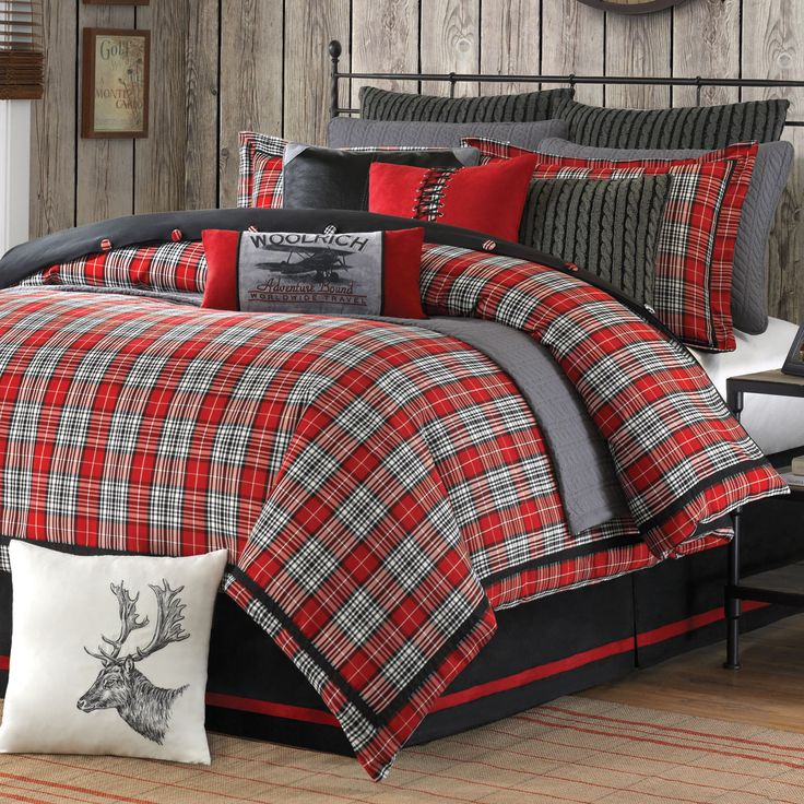 Williamsport Plaid Bed Set Supernatural Bedding The B