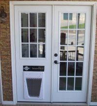 Replace Sliding Glass Door with Dog Door | In the Doghouse