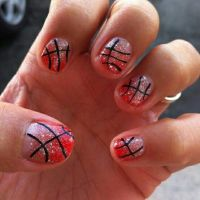 Best 10+ Basketball nails ideas on Pinterest