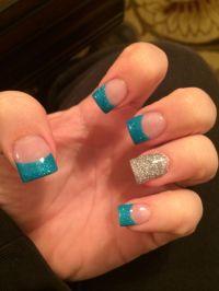 Best 20+ Teal nail designs ideas on Pinterest | Tribal ...