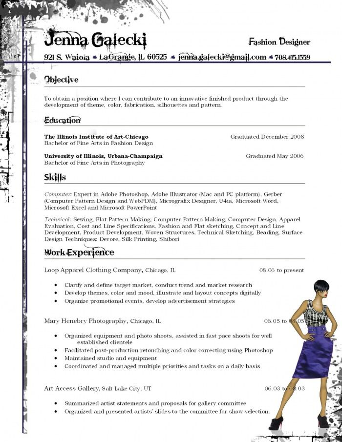 Make A Free Printable Resume Professional Resume Example 25 Best Ideas About Fashion Resume On Pinterest