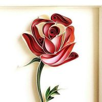 17 Best ideas about Quilled Roses on Pinterest