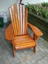 Folding Muskoka Chair Plans - WoodWorking Projects & Plans