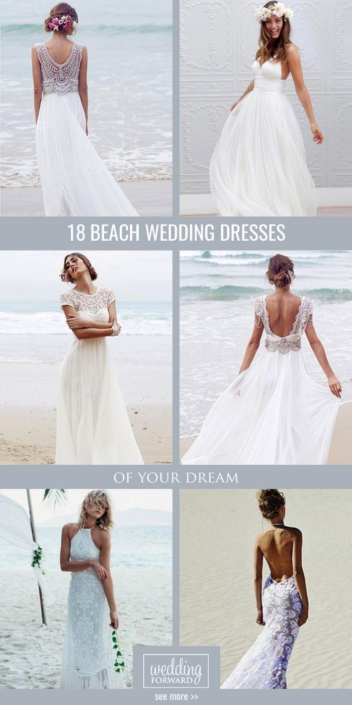 hawaiian wedding dresses beach dresses for weddings 30 Beach Wedding Dresses Perfect For Destination Weddings